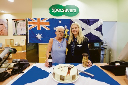 Specsavers customers happy now that popular Cara is back