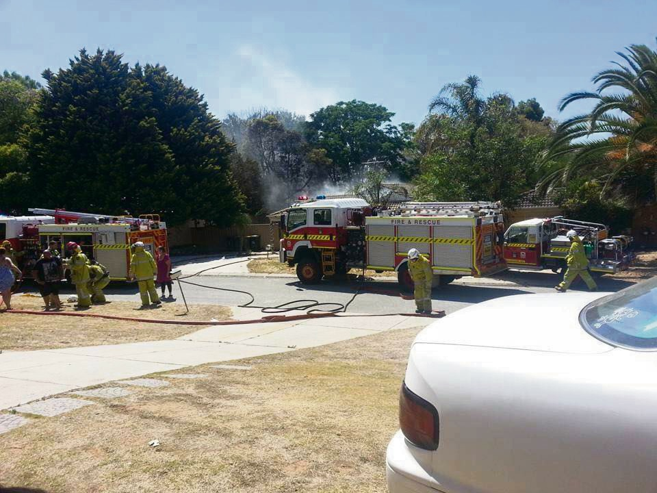 Kwinana community rally around a family who lost everything in a Christmas Eve fire