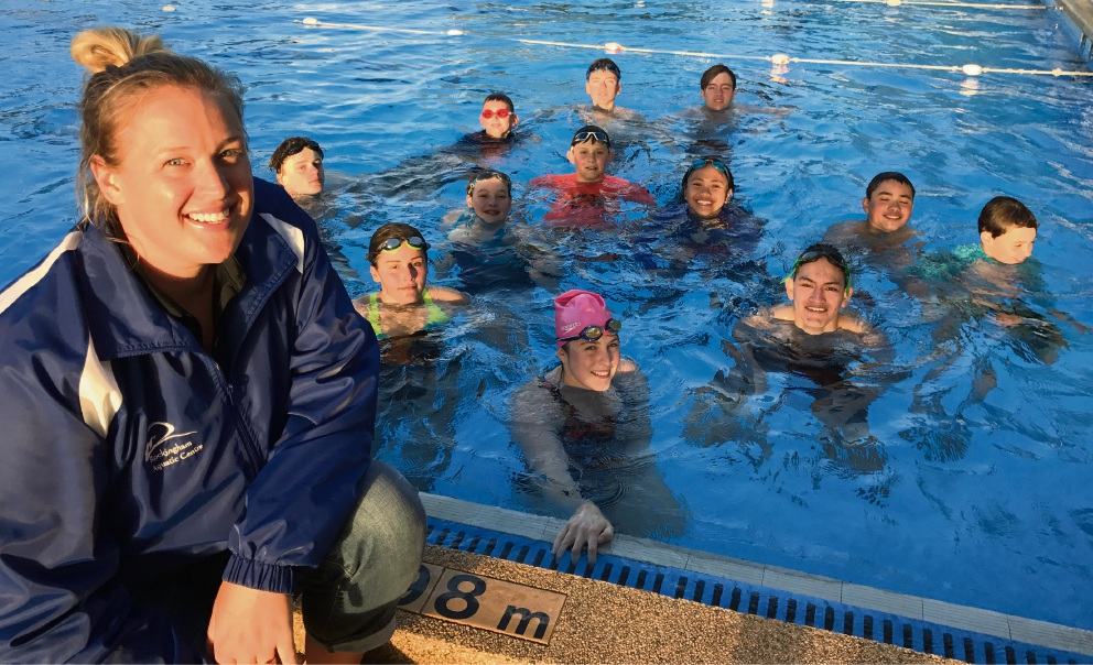 Commonwealth Games medallist and Australian champion to coach swimming in Rockingham