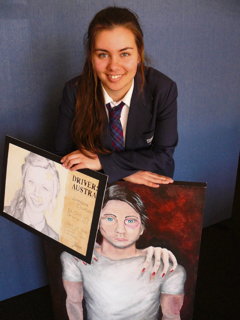 Foundation Christian College's Imbue art exhibition impresses