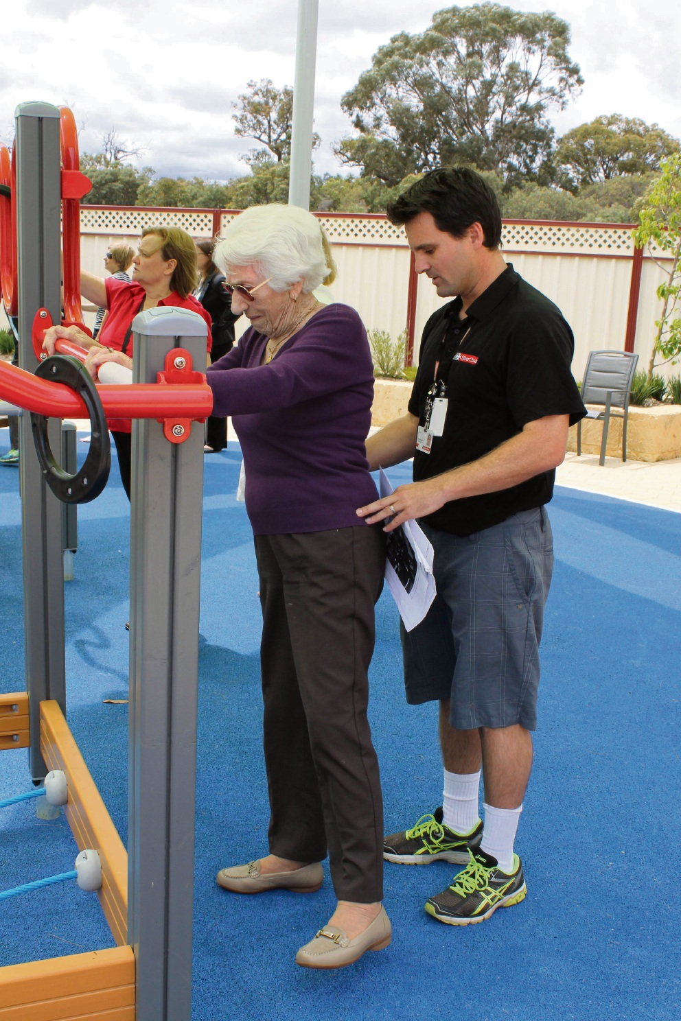 Seniors' exercise park in Mandurah a first in WA