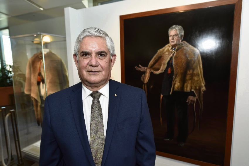 Hasluck MHR Ken Wyatt humbled as portrait is hung at Parliament House