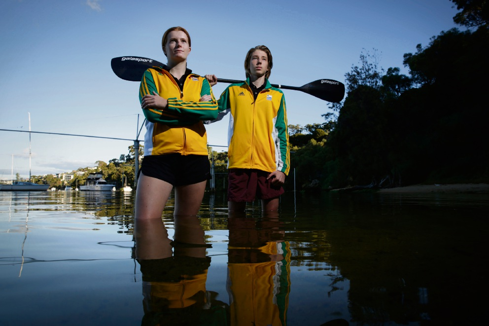 Kira Wall (17) and Louis Richardson (17) have been nominated for Local Sports Stars competition. Picture: Andrew Ritchie  d468996