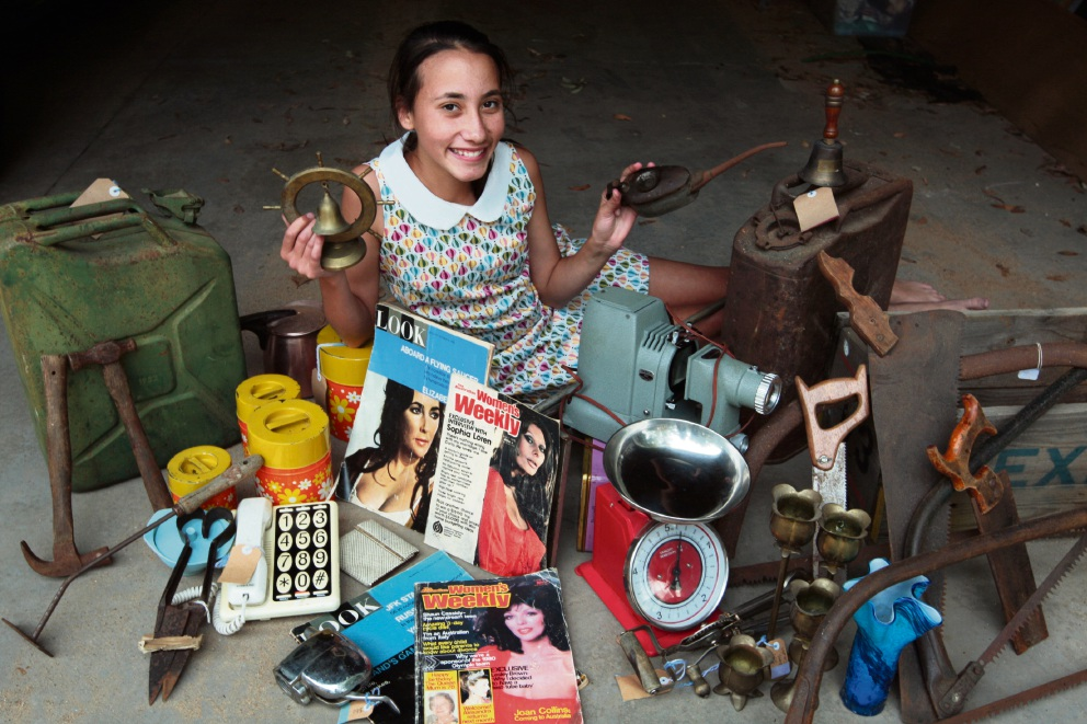 Lulu Belle's Vintage and Retro Collectables: Parkerville tween launches business while still at primary school