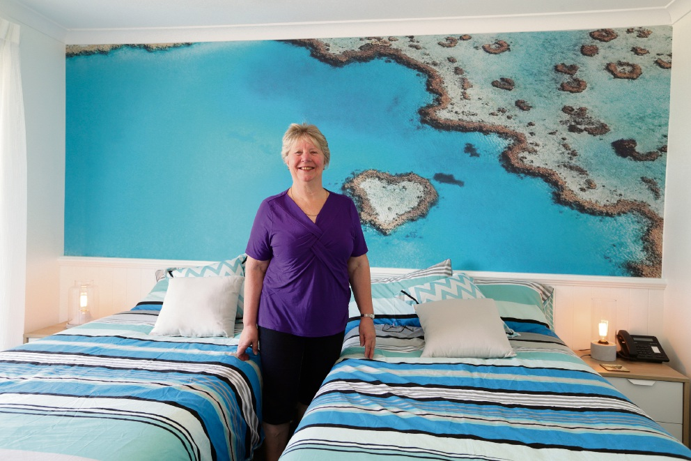 Genesis CancerCare Lodge's Jo Holding. Picture: Martin Kennealey