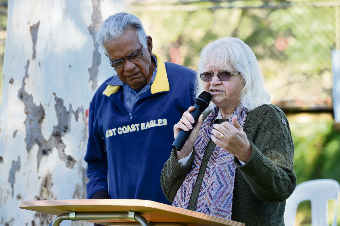 Pinjarra reconciliation event a show of solidarity from community