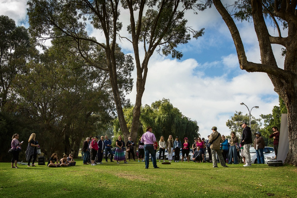 Reconciliation Week celebrated with a free guided walk near Lake Joondalup