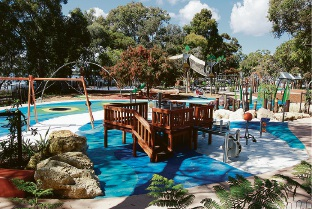 Bibra Lake regional playground. Picture: Marie Nirme d461811