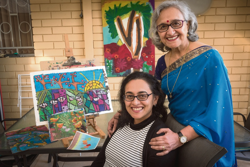 Anu Madan and her daughter  Madu Madan of Shelley plan to celebrate the achievements of Aussie-Indian women at Expo Naari.