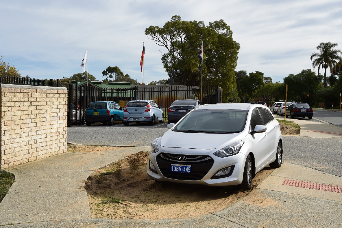 The Department of Education is investigating a lack of parking space around Leda Primary School.