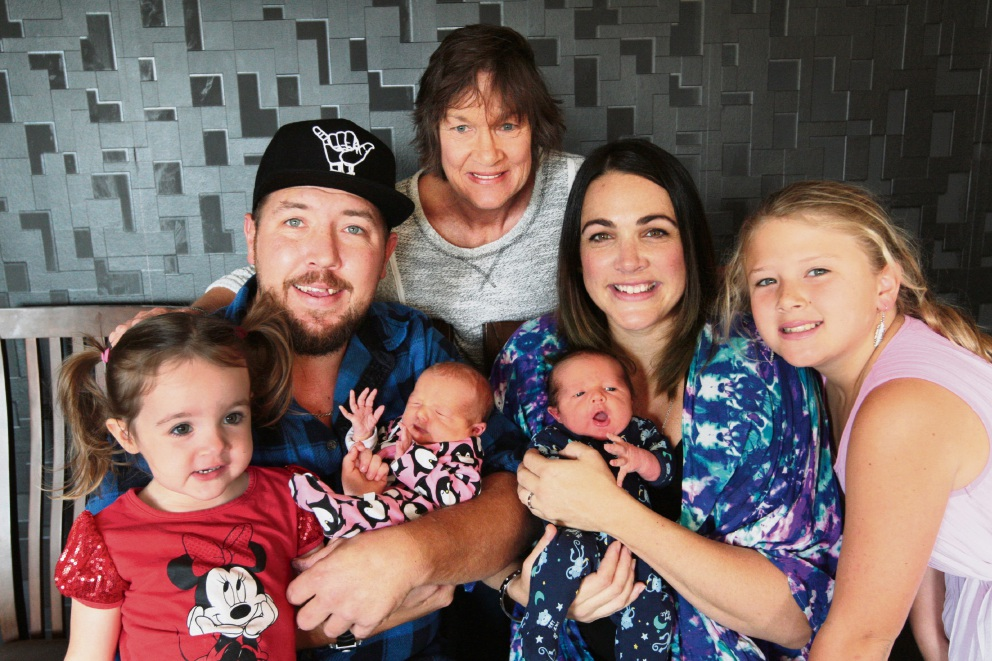 Henley Brook family with history of multiple births welcomes twins