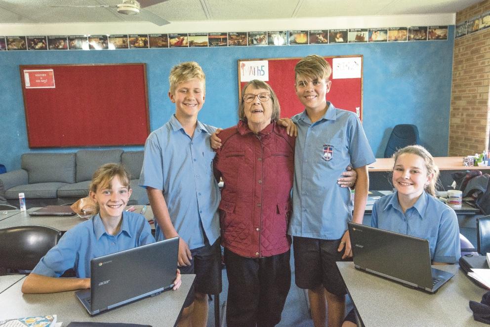 School life a family affair for Wilson resident