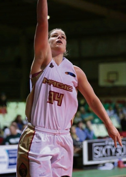 Carly Boag top-scored with 21 points, 11 rebounds and nine steals. �������Picture: Vikki Hile