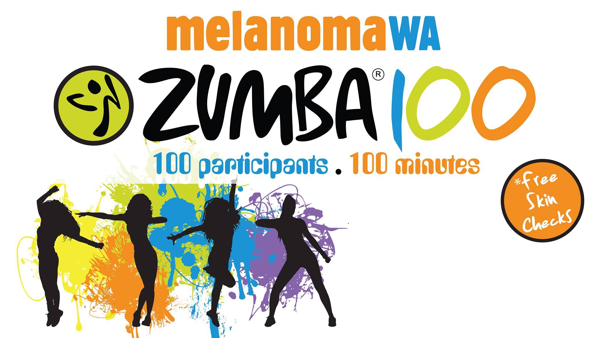 Zumba100 for melanomaWA
