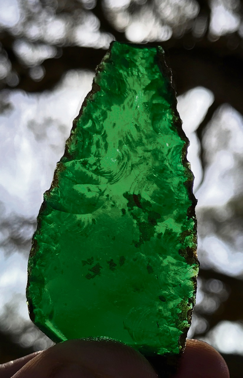 UWA School of Indigenous Studies discovers emerald green glass spearhead