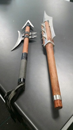 Two of the weapons destroyed by Ballajura Police.