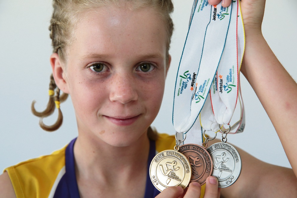 "Joondalup Little Athletics Club's Rowan Young has ""remarkable"" dedication"