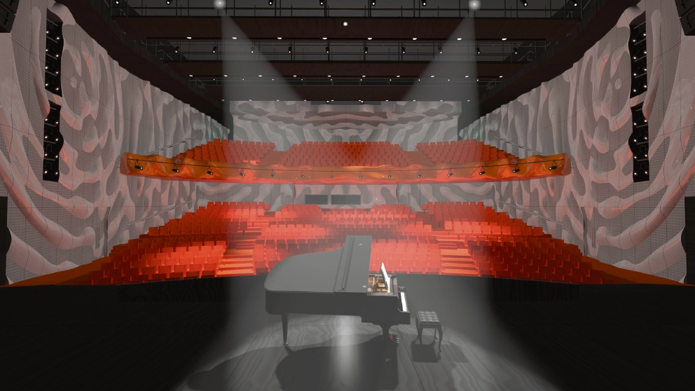 An artist's impression of what the Joondalup performing arts centre could look like.