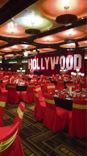 Hollywood theme. Pictures: Event Photography