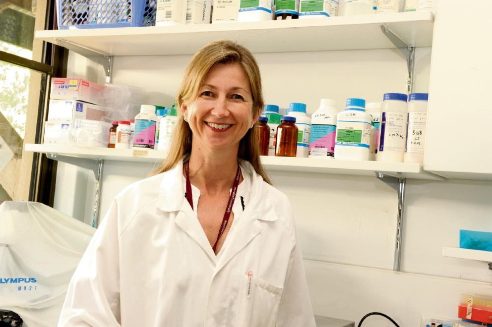 Murdoch University virologist Cassie Berry.