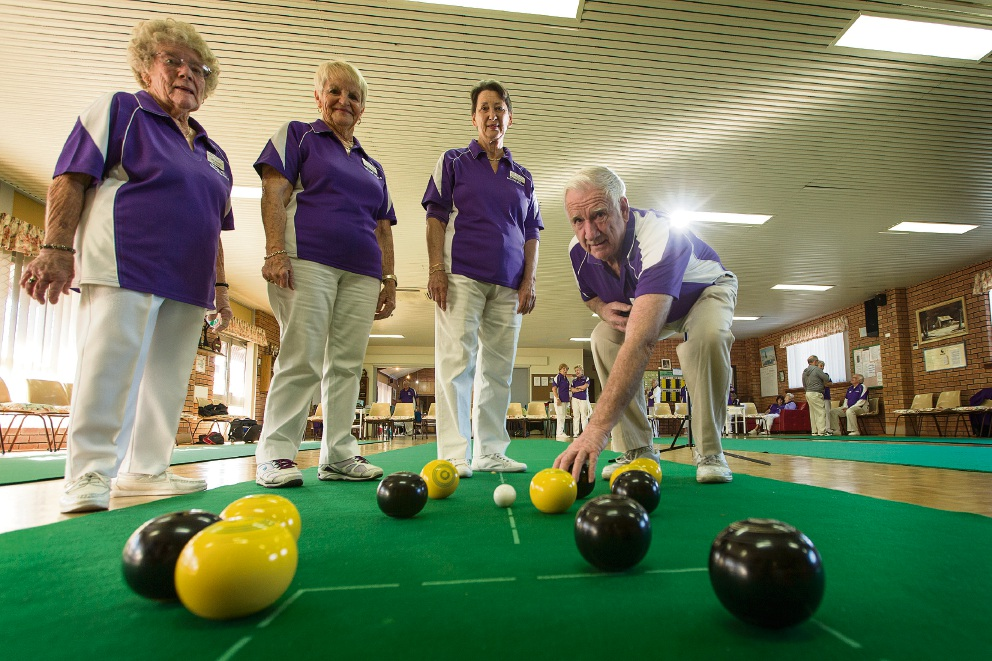 Stock Road Senior Citizens gets new indoor bowls greens thanks to Lotterywest grant