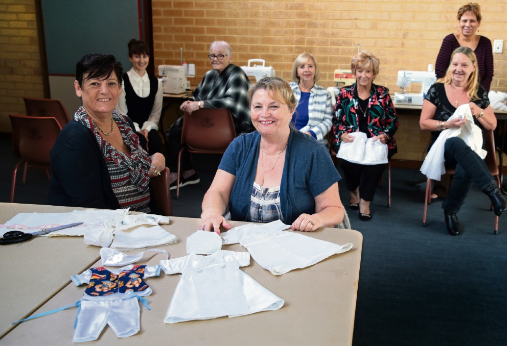 Lyn Haast (Butler) and Elaine Ballard (Quinns Rocks) from North Coastal Women's Shed. Picture: Martin Kennealey