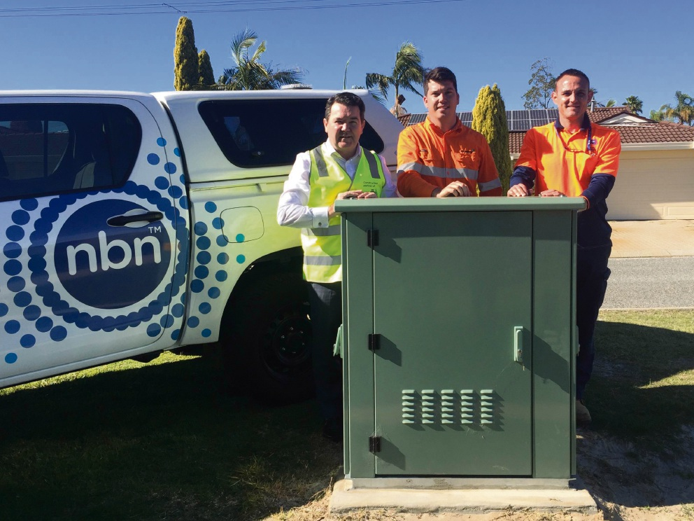 NBN switched on for areas in eastern suburbs