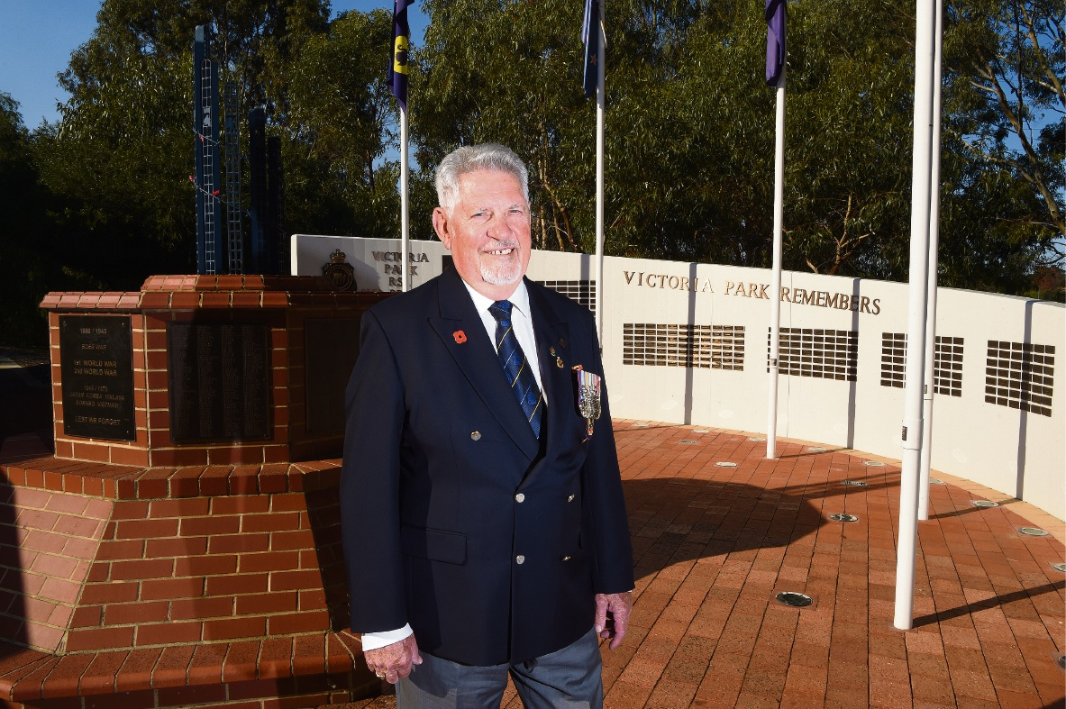 Kelvin Liddiard: Proud and surprised at receiving the OAM. Picture: Jon Hewson �������www.communitypix.com.au   d470169