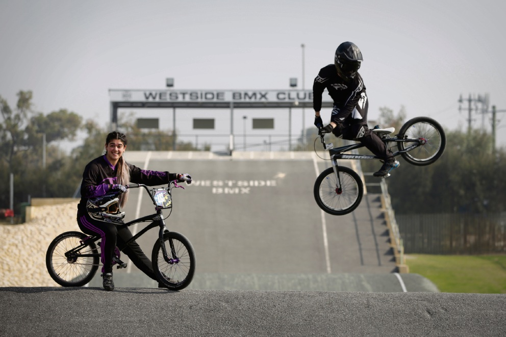 Balcatta-based siblings ramp up training ahead of BMX world championships