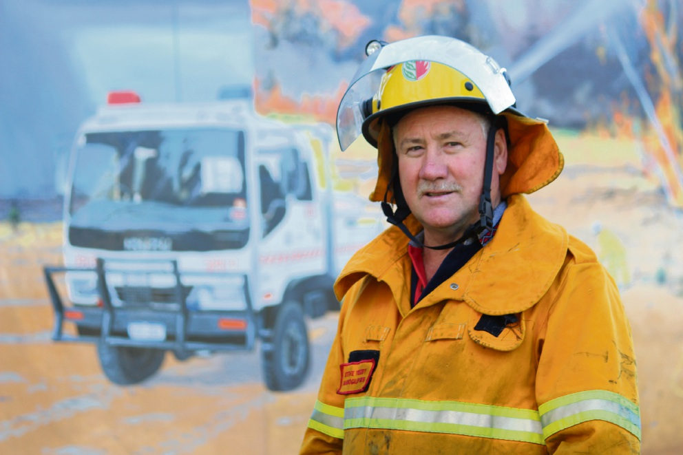 Mandogalup Volunteer Bush Fire Brigade stalwart recognised for 46 years service in Queen's Birthday Honours List