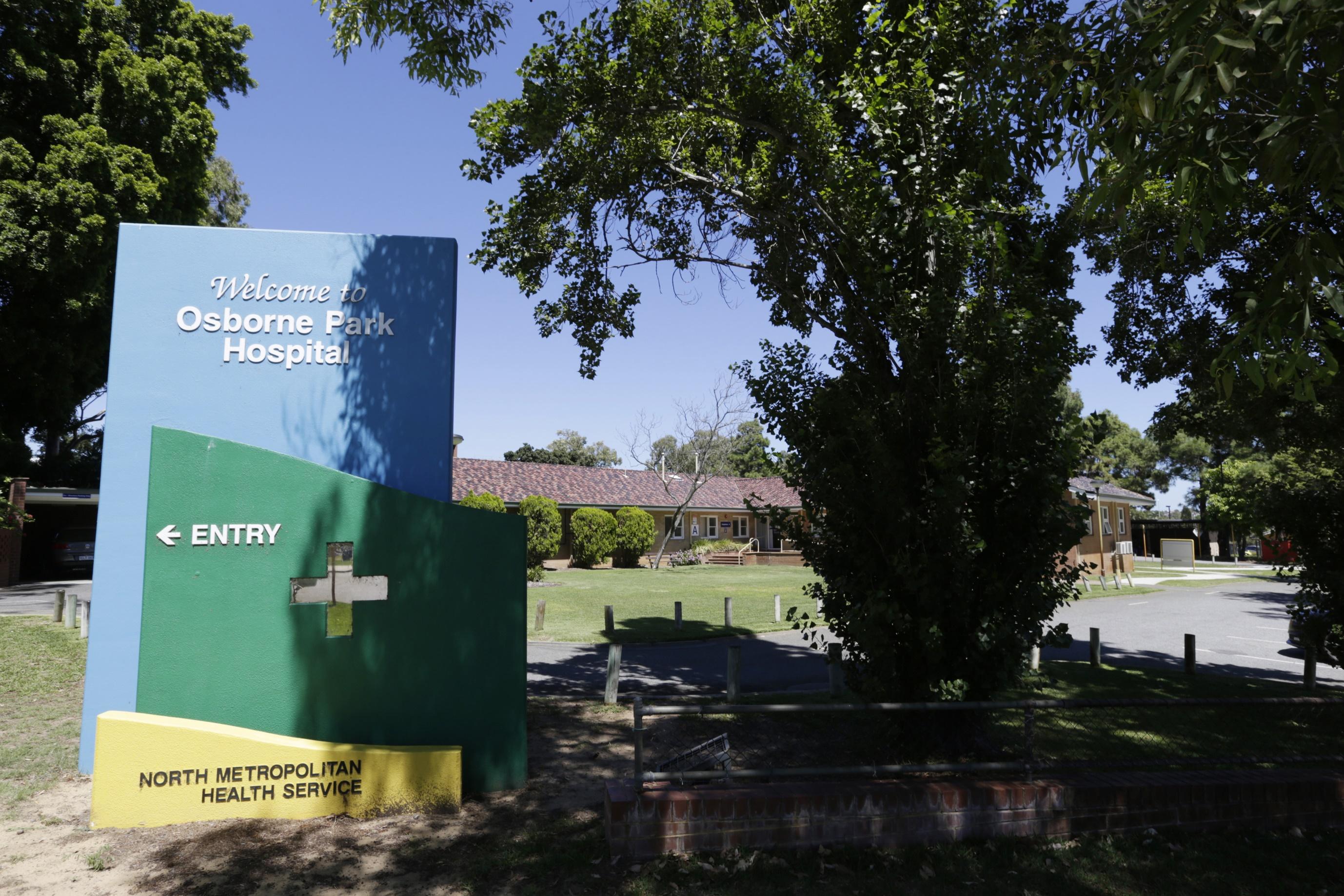 Osborne Park Hospital.