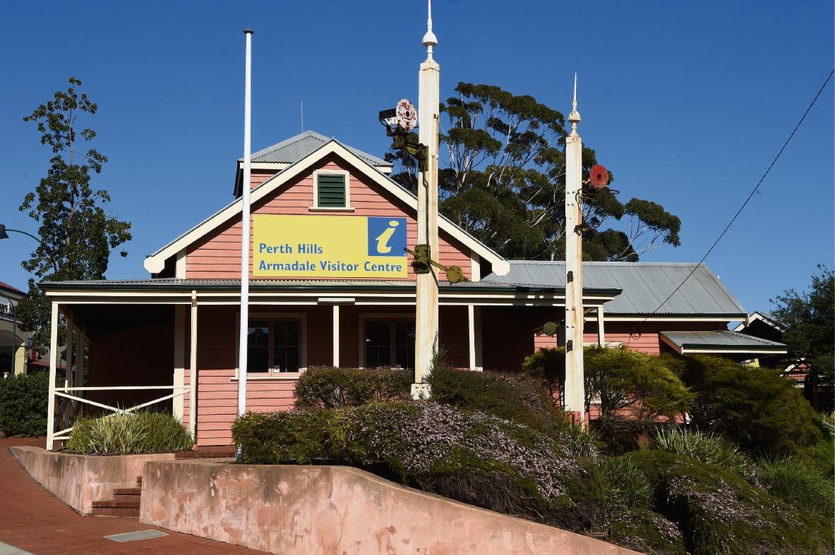 Armadale Visitor Centre. Picture: Jon Hewson