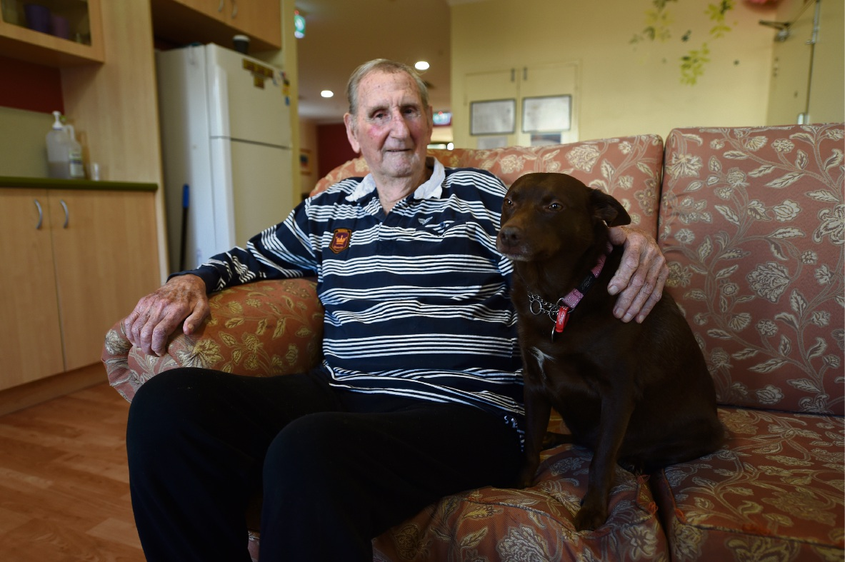 Mercy Place Mandurah welcomes new temporary four-legged resident