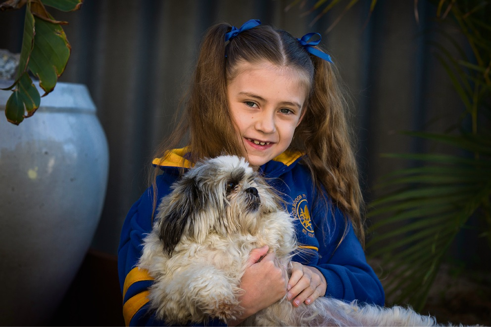 Variety grant buys walking device for Booragoon PS schoolgirl