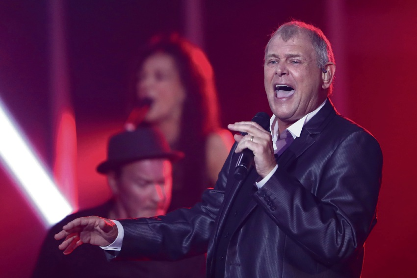 John Farnham performs on stage at November's ARIA Awards in Sydney. Picture: Cameron Spencer/Getty Images