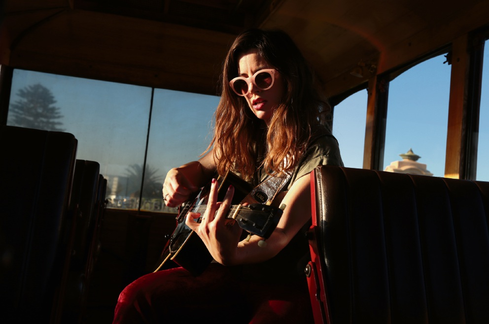Fremantle musician Lucy Farley, aka Lucy Peach.