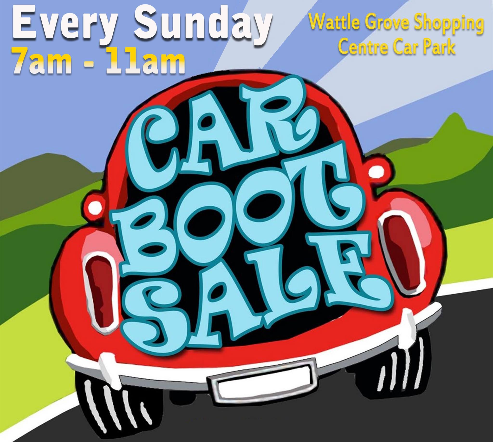 Wattle Grove Car Boot Sale
