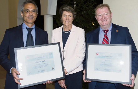 Recognition for volunteers at Cottesloe awards