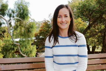 Murdoch University neuroscientist Ann-Maree Vallence hopes a specially designed mobile phone app can help stroke patients recover brain functionality.