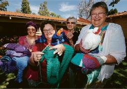 Linda Trefry, Robyn Ricket, Jo Skinner and Margaret Blair. Picture: Matt Jelonek