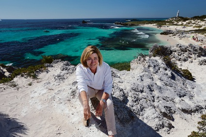 Rottnest Island Authority chief executive Michelle Reynolds. Picture: Andrew Ritchie