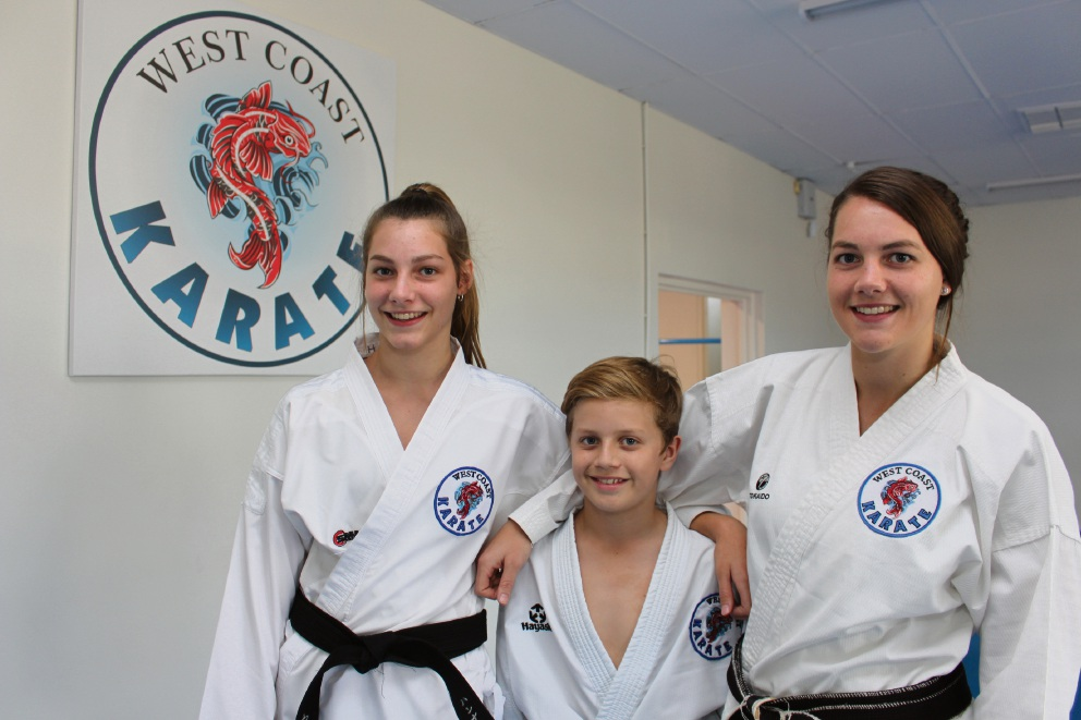 Hannah Sullivan, Charlie Baines and Rebecca Sullivan all brought home medals from the recent Australian Open.
