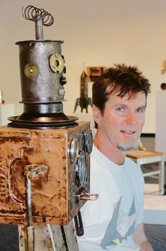 Creations from the man cave: exhibit at Mandurah Art Gallery promoting recycling