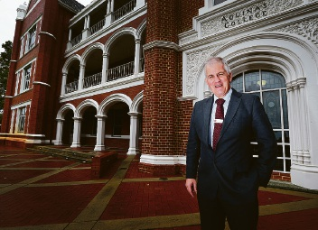 New Aquinas College headmaster David McFadden the 'head of the family'
