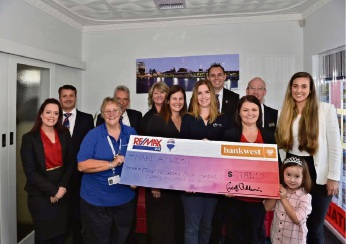 RE-MAX donated $4781 to Make A Wish Mandurah.
