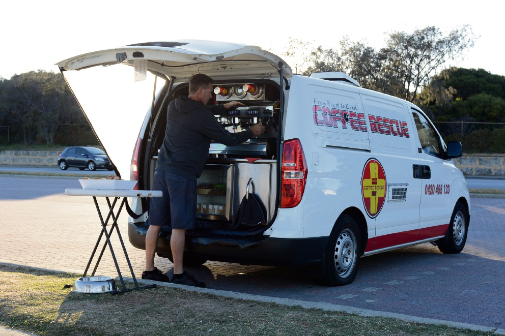 A proposed policy for mobile food traders could give the early morning coffee van its own bay at Mosman Park Beach.