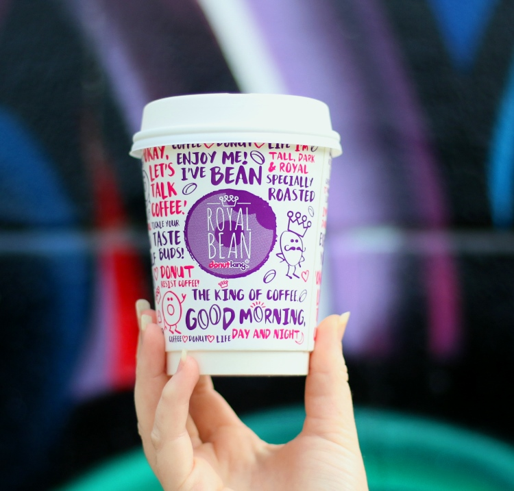 Barista's Shout with free coffee at Midland Gate Donut King