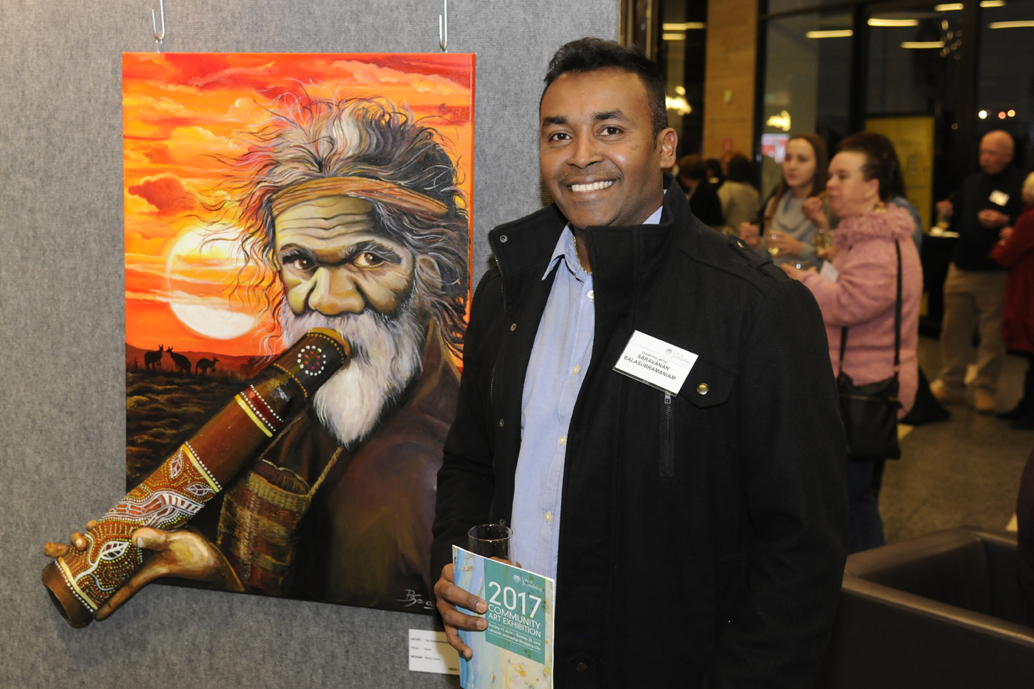 Saravanan Balasubramaniam. Picture: Chris Kershaw