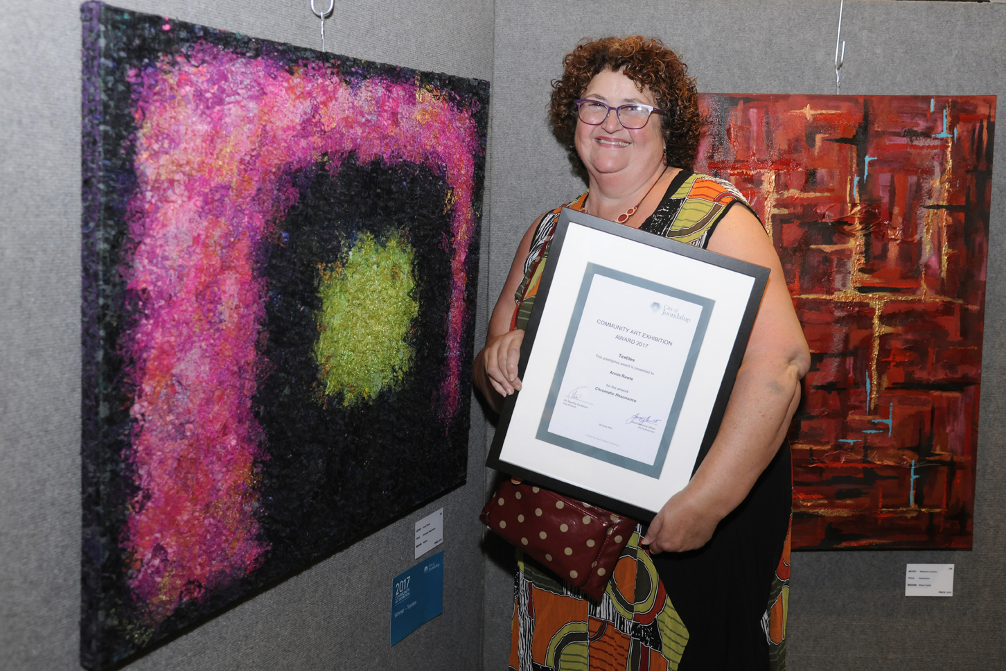 Textiles winner Annie Rawle. Picture: Chris Kershaw