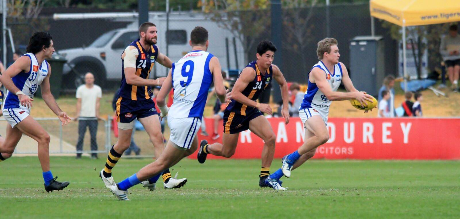 East Fremantle will tackle Perth and South Fremantle will take on West Perth on Saturday. Picture: Phil Elliott/ PixEll Photography